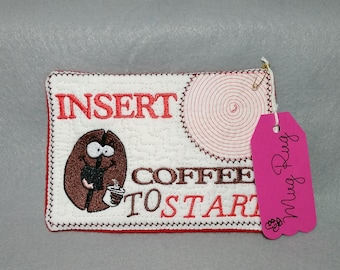 Coffe Bean Mug Rug, For the Coffee Lover!
