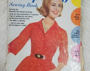 Vintage Simplicity Sewing Book