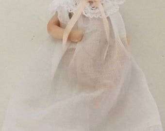 Prescious Artist Made Bisque Baby