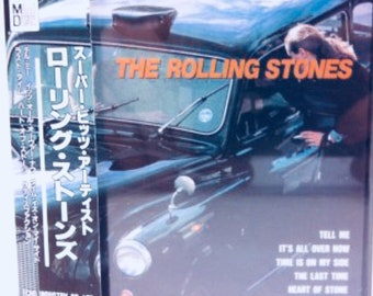 Rolling Stones Japanese Mini disc