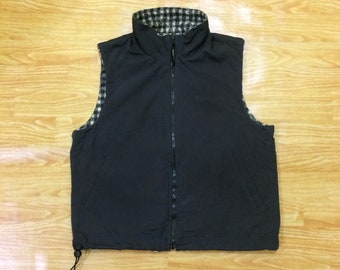 Vintage Sergio Tacchini Reversible Vest