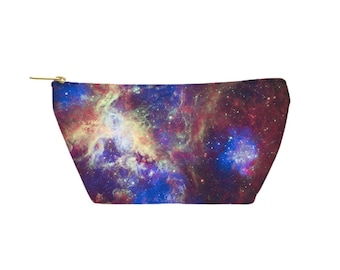 Tarantula Nebula Pouch - Accessory Bag, Cosmetic Case, Makeup Bag, Toiletry Bag, Pencil Pouch - Printed in USA