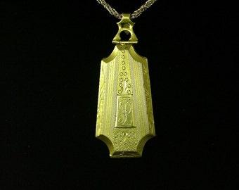 Art Deco Gold Filled Locket (No. 1144)