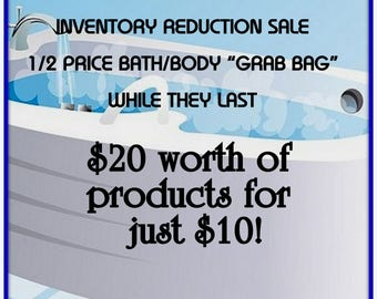 BATH & BODY 1/2 Price SALE-20 Dollars Worth of Products for 10 Dollars-Only -Limited Supply