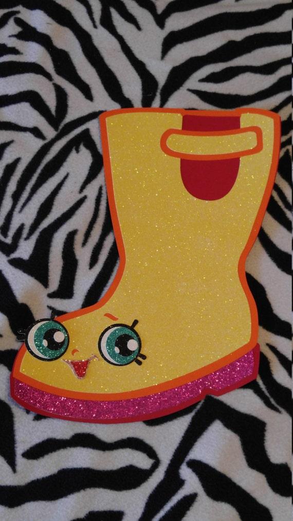 Jennifer Rayne rain boot Shopkin Rainboot Shopkin wall decor