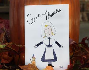 MM Thanksgiving Notecard
