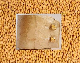 Mustard Seed Cuff Links