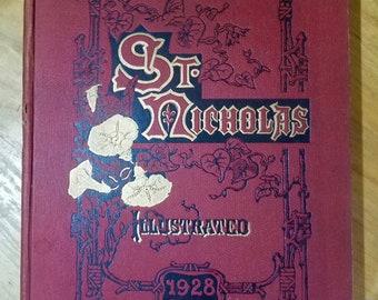 St. Nicholas An Illustrated Magazine 1928 Book