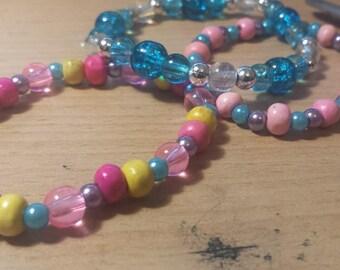 Princess Cadance, Shining Armor & Flurry Heart themed bracelets