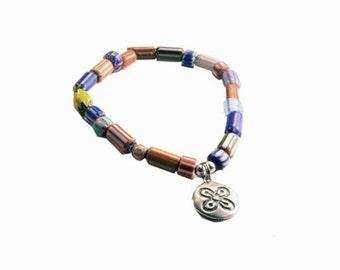 Adrinka Fortune Bracelet BR10246 Symbology by Lois Wagner