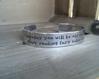 CS Lewis / Literary Gift / Someday You Will Be Old Enough To Start Reading Fairy Tales Again / Book Lover Gift / Bookish Gift / Bookworm /