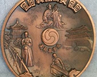 """8"""" Korea Wall Hanger Plate"""