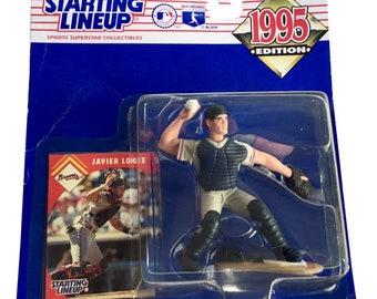 MLB Starting Lineup SLU Javier Lopez Action Figure Atlanta Braves 1995 Kenner