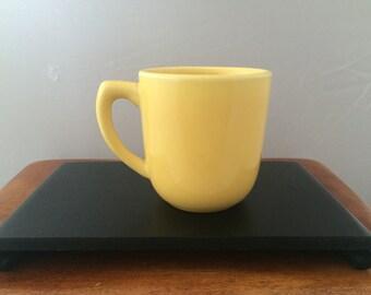 Vintage Bauer Pottery Plainware Mug - Yellow