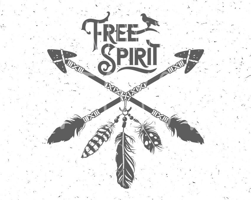 Pin by Anna Smyth on Ink Free spirit, Boho arrow, Free svg