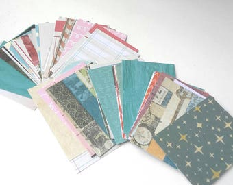 2.5 X 3.5 inch Printed Card Stock Paper Blank ATC Artist Trading Cards Pocket Letter Scrap paper
