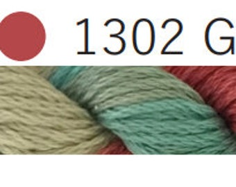 Gwennie 1302-Cottage Garden Threads-CGT-6 Strand Cotton embroidery thread-Hand Dyed Thread-hand dyed cotton-online quilting Australia