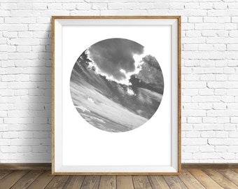 "nature photography, large art, large wall art, printable art, instant download printable art, art print, landscape prints, gray - ""Askew"""