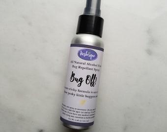 All Natural Bug Spray - Essential Oil Bug Spray - Organic Bug Spray - Bug Off Spray - Deet Free Bug Spray - Mosquito Spray-Camping Accessory