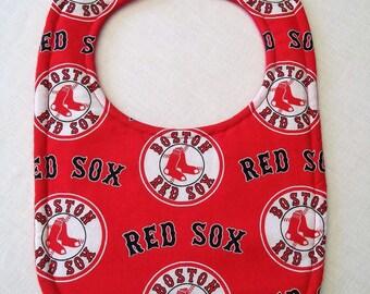 Boston Red Sox Baby Bib