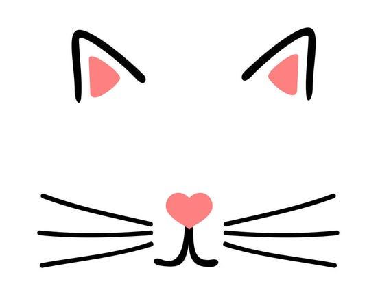 Cat Ear Printable