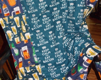 Mens Gift Man Throw Beer and Bacon