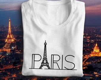 Paris, Eiffel tower shirt