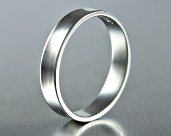 Silver Rings, Sterling Silver Ring, Silver Band, Simple Silver Ring