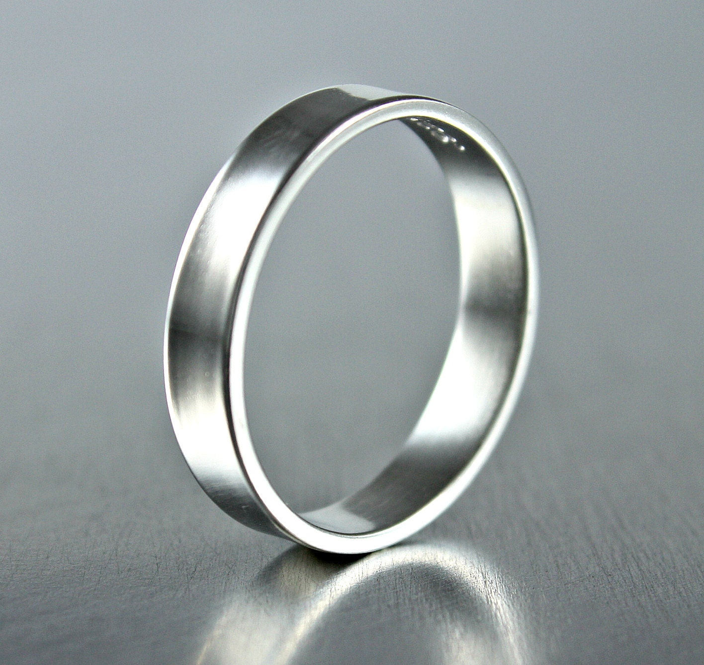 Silver Rings Sterling Silver Ring Silver Band Simple Silver