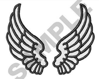 Angel Wings - Machine Embroidery Design