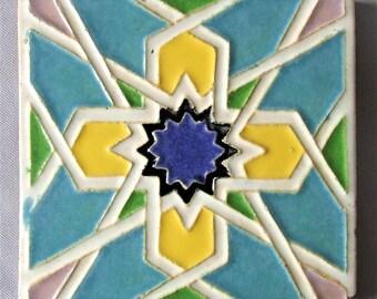 Calco California Clay Products Tile Moorish Design