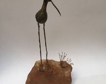 Curtis Jere bird sculpture
