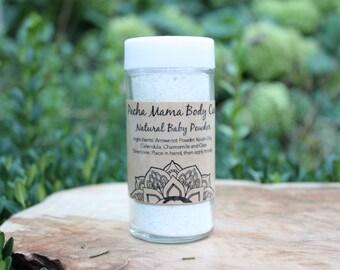 Natural Baby Powder  •  Diaper Powder  •  Baby Safe  •  Organic Body Care
