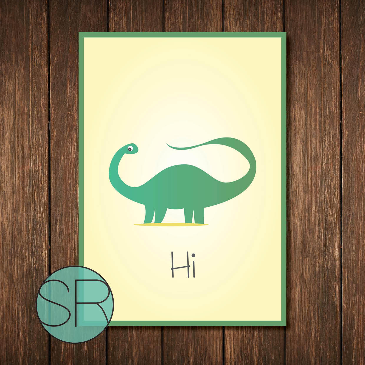 Beautiful Dinosaur Wall Art For Kids Contemporary - The Wall Art ...