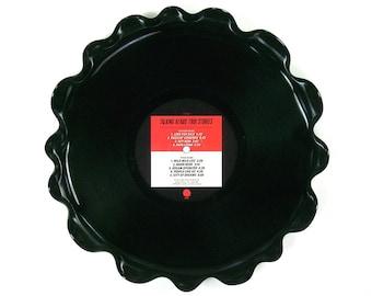 Talking Heads Vinyl Record Tray / Platter Vintage Retro LP Album 1986 (True Stories) Red and White Label