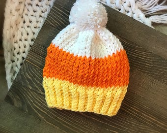 Candy Corn hat-Infants/Toddlers/Kids