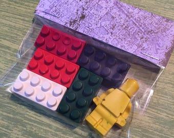 LEGO shapes crayons set of 30