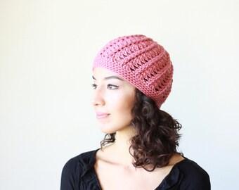 Crochet beanie women