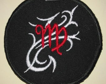 Virgo Zodiac Patch