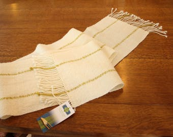 Handwoven Scarf/Shawl/Table Runner with Cotswold