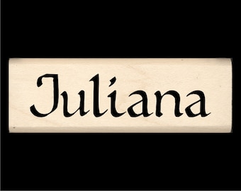 Juliana - Name Rubber Stamp for Kids