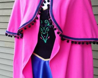 Princess Costume Cape Girls Toddler Dress Up Photo Prop
