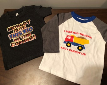 Custom Toddler and Youth Tees