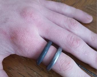 Steel Series Singlet Ring.