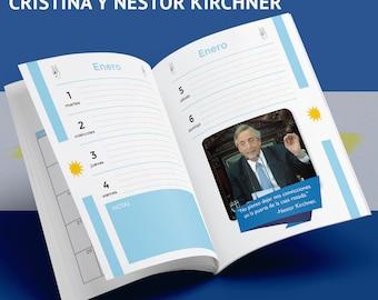 Agenda 2019 Nestor and Cristina Kirchner printable