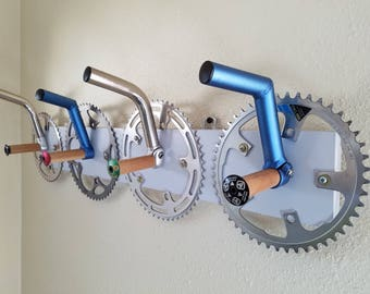 Coat/Hat Rack Wall Mount (Used Bicycle Parts)