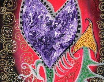 Heart Mixed Media Anatomy