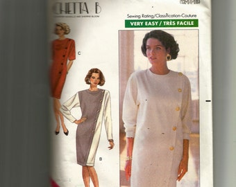 Butterick Misses' Dress Pattern 4455