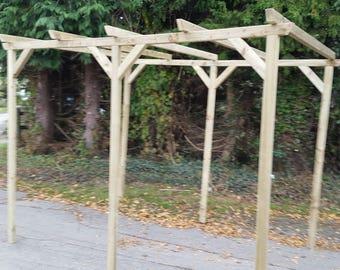 Large Wooden Pergola - Garden Arch Pergola