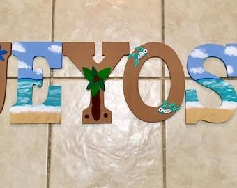 Custom Painted Nursery Letters